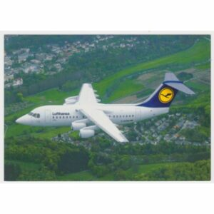 LUFTHANSA CITYLINER AVRO RJ85 WIDOKÓWKA A51023