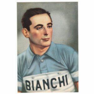 BIANCO BIANCHI KOLARZ ROWER POCZTÓWKA A53761