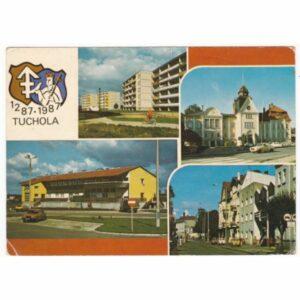 TUCHOLA HERB WIDOKÓWKA A54191