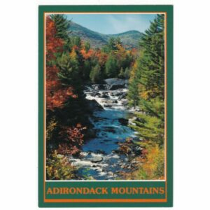 ADIRONDACK MOUNTAINS WIDOKÓWKA A54548