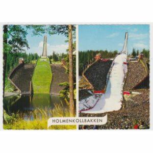 NORWEGIA HOLMENKOLLEN SKOCZNIA WIDOKÓWKA A55222