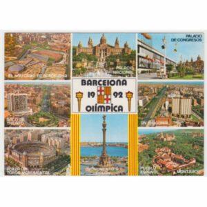 BARCELONA OLIMPICA 1992 POCZTÓWKA A56125