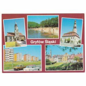 GRYFÓW ŚLĄSKI WIDOKÓWKA A59417