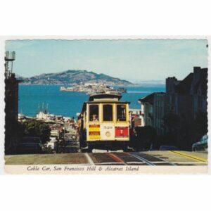 USA SAN FRANCISCO TRAMWAJ WIDOKÓWKA A59549