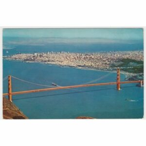 USA SAN FRANCISCO MOST WIDOKÓWKA A59614
