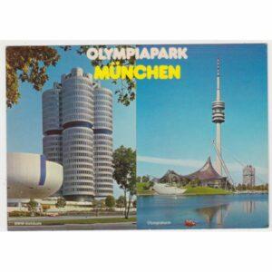 MONACHIUM MUNCHEN OLIMPIAPARK BMW WIDOKÓWKA A59687