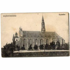 SANDOMIERZ KATEDRA WIDOKÓWKA A60487