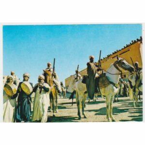 ALGIERIA AL BAJAD KONIE WIDOKÓWKA A60564