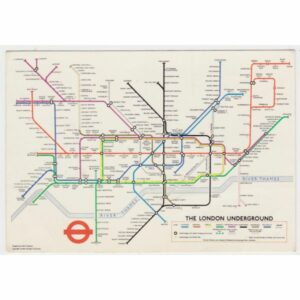 ANGLIA LONDYN MAPKA WIDOKÓWKA A60782