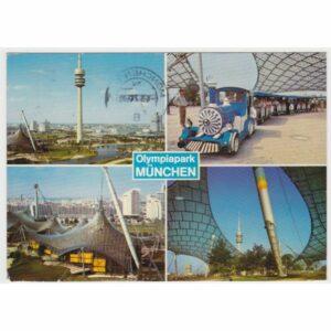 MONACHIUM MUNCHEN OLIMPIAPARK WIDOKÓWKA A60809