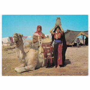 IZRAEL BEDUINI WIELBŁĄD WIDOKÓWKA A61442