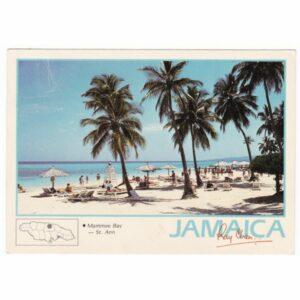 JAMAJKA MAPKA POCZTÓWKA A61507