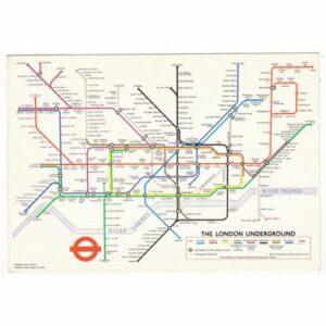 ANGLIA LONDYN MAPKA WIDOKÓWKA A62362