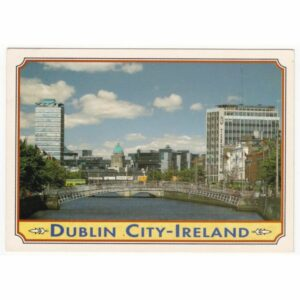 IRLANDIA DUBLIN WIDOKÓWKA A64211