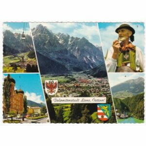 AUSTRIA LIENZ STRÓJ LUDOWY WIDOKÓWKA A64378