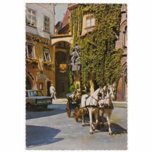 AUSTRIA WIEDEŃ KONIE WIDOKÓWKA A64538
