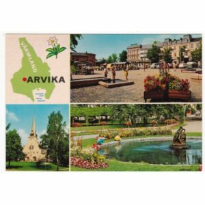 ARVIKA MAPKA WIDOKÓWKA A64764