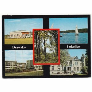 DRAWSKO I OKOLICE WIDOKÓWKA A65054