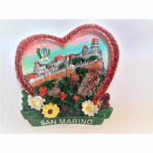 MAGNES NA LODÓWKĘ San Marino zamek herb (603)