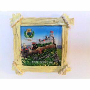 MAGNES NA LODÓWKĘ San Marino zamek herb 604