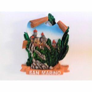 MAGNES NA LODÓWKĘ San Marino TWIERDZA LA ROCCA O GUAITA 606