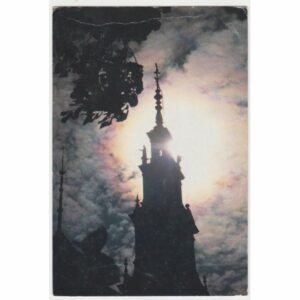 CZĘSTOCHOWA JASNA GÓRA ŚWIATOWY DZIEŃ MŁODZIEŻY WIDOKÓWKA A65599