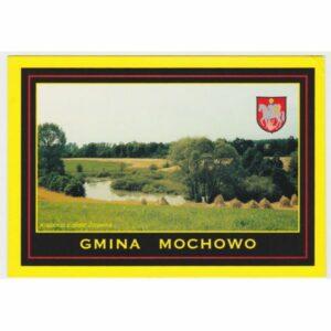 MOCHOWO ŻURAWIN HERB WIDOKÓWKA A65635