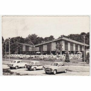 WĘGRY BALATON MOTEL SAMOCHODY WIDOKÓWKA A660073