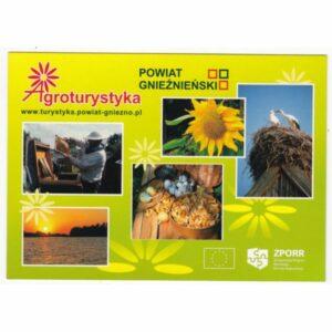 GNIEZNO POWIAT AGROTURYSTYKA WIDOKÓWKA A66478