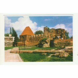 Toruń ruiny zamku WIDOKÓWKA WR8793
