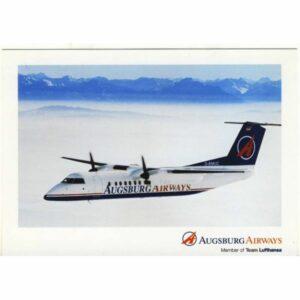 SAMOLOT AUGSBURG AIRWAIS WIDOKÓWKA A13366