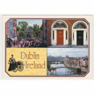 IRLANDIA DUBLIN WIDOKÓWKA A68433