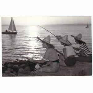 WĘGRY BALATON WĘDKARZE WIDOKÓWKA A68987