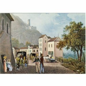 BERN PPT MUSEUM J.D.GRUNDMANN MORTIGNY 1830 POCZTÓWKA A11651