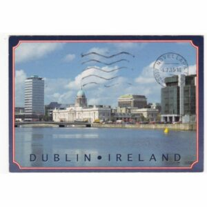 IRLANDIA DUBLIN WIDOKÓWKA A69740