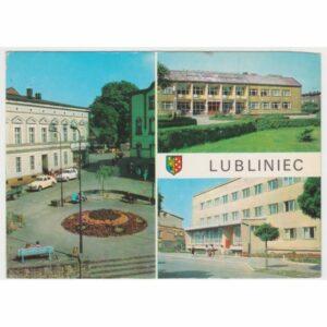 LUBLINIEC HERB WIDOKÓWKA A69982