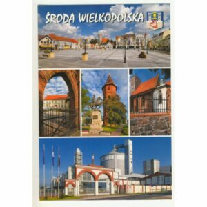 ŚRODA WIELKOPOLSKA WIDOKÓWKA WR8856