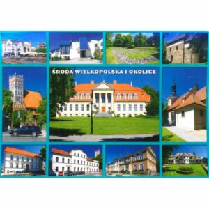 ŚRODA WIELKOPOLSKA WIDOKÓWKA WR9027