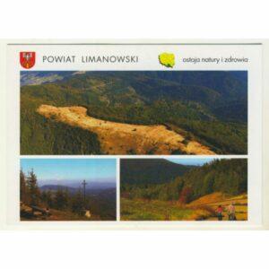 POWIAT LIMANOWSKI WIDOKÓWKA WR9105