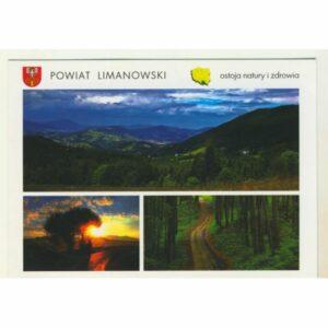 POWIAT LIMANOWSKI WIDOKÓWKA WR9106