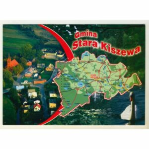 GMINA STARA KISZEWA WIDOKÓWKA WR9134