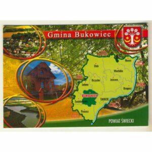 GMINA BUKOWIEC WIDOKÓWKA WR9186