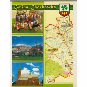 GMINA CHORKÓWKA WIDOKÓWKA WR9187