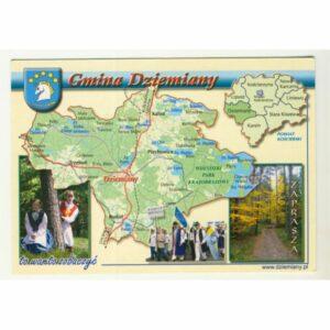 GMINA DZIEMIANY WIDOKÓWKA WR9071