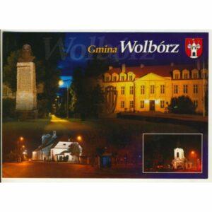 GMINA WOLBÓRZ HERB WIDOKÓWKA WR9375