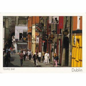 IRLANDIA DUBLIN WIDOKÓWKA A71800