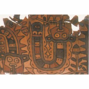 PERU CAHUACHI MALOWIDŁA WIDOKÓWKA A71908