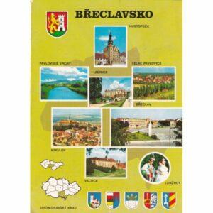 CZECHY BRECLAV MAPKA WIDOKÓWKA A71645