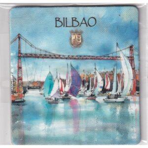 MAGNES NA LODÓWKĘ Bilbao Hiszpania 2376