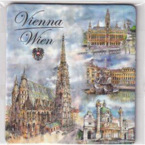 MAGNES NA LODÓWKĘ Wiedeń Austria HERB 2378